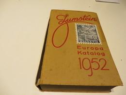 Alter  JUNGSTEIN  EUROPA - KATALOG  Von 1953 - Cataloghi