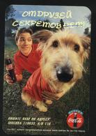 1996  RUSSIA  Russie Drink  Coca Cola  Advertising - Boy W/dog Friends - School Break - Calendarios