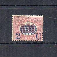 Italia - 1878 - Sovrastampa 2 C E Linee Ondulate Su Francobolli Di Servizio Del 1875 - 2 C Su 0,30 - Usato - (FDC18692) - Dienstpost