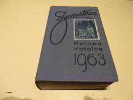 Alter  JUNGSTEIN  EUROPA - KATALOG  Von 1963 - Cataloghi