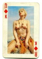 Carte Format 8,4 X 5,5 - Roi De Carreau - Femme Nue - Non Classés