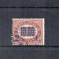 Italia - 1878 - Sovrastampa 2 C E Linee Ondulate Su Francobolli Di Servizio Del 1875 - 2 C Su 10,00 - Usato - (FDC18695) - Dienstpost