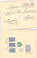 LETTRE GRECE. 1923. RECOMMANDÉ RARGOSTOLI  /  3 - Grecia
