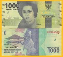 Indonesia 1000 Rupiah P-154 2016(2019) UNC Banknote - Indonesia