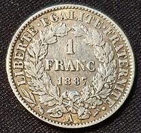 France 1 Franc 1887 - France