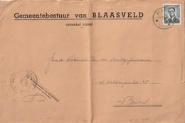 Grote Omslag - Sterstempel BLAASVELD 1967 - Poststempel