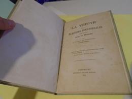 LA VERITE SUR LES ELECTIONS SENATORIALES DU 5 JANVIER (1879) DANS LA MANCHE Par Le Comte Hervé De SESMAISONS 1879 - Normandie