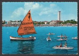 80296/ RIMINI, Panorama Parziale Della Spiaggia, 1963 - Rimini