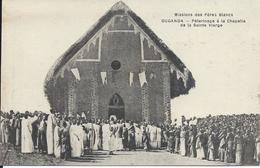 CP  Ouganda Pélerinage à La Chapelle De La Sainte Vierge Missions Des Pères Blancs - Oeganda