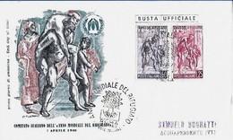 1960 FDC - Edizioni Filagrano - Anno Mondiale Del Rifugiato Con Timbro Di Arrivo - Flüchtlinge