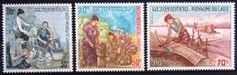 LAOS                       N° 228/230                       NEUF** - Laos