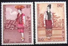 LAOS                       N° 252/253                       NEUF** - Laos
