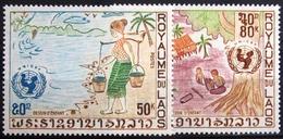 LAOS                       N° 250/251                       NEUF** - Laos