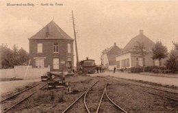 Montroeul-au-bois   Arret Du Tram N'a Pas Circulé - Ath