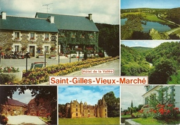 *CPM - 22 - SAINT GILLES VIEUX MARCHE - Multivues - Saint-Gilles-Vieux-Marché