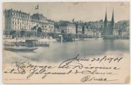 Luzern Und Schweizerhofquai - LU Luzern