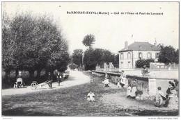 BARBONNE-FAYEL - Gué De L'Orme Et Pont De Lancourt (vue Animée, Enfants) - France
