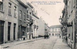Woluwe Saint Pierre Rue De L'eglise Attelage Circulé En 1909 - Woluwe-St-Pierre - St-Pieters-Woluwe