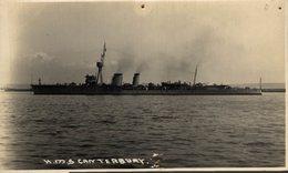 HMS CANTERBURY  PINHOLES SEE SCAN - Guerra