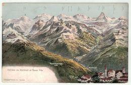 Suisse // Schweiz // Switzerland //  Valais // Vallée De Zermatt Et Saas-Fée - VS Valais