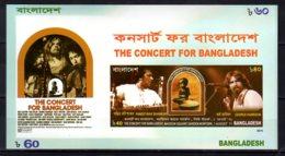2015 Bangladesh -Concert For Bangladesh Ravi Shankar And George Harrison Music MNH** MiNr. 1165(Block 58) - Musik