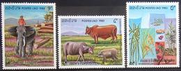 LAOS                       N° 514/516                       NEUF** - Laos