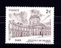 F 2019 /  2 €  Institut De France, Timbre Provenant Du Bloc Argenté 10 Ans Du Carré D'Encre, N**, - Monumenten