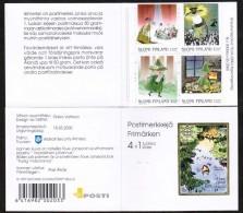 2000 Finland Moomin Booklet MNH, Scarce Wallsall Printing!! - Boekjes