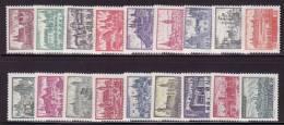POLAND 1960 MICHEL 1188-1196; 1209-1217 SET MNH /zx/ - 1944-.... Republik