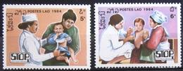 LAOS                       N° 604/605                       NEUF** - Laos