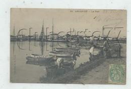 Ars-en-Ré, Ile De Ré (17) : Le Déchargement Du Poisson Dans Le Port En 1907 (animée) PF. - Ile De Ré