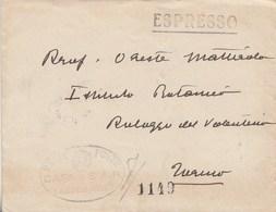 401 -  Busta Espresso Senza Testo  Del 1931 Da CASA Di SAR Il Duca Degli Abruzzi A Torino - In Franchigia - - 1900-44 Victor Emmanuel III