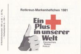 BERLIN  DRK-MH, 6x 652, Gestempelt, Wohlfahrt 1981 - [5] Berlino
