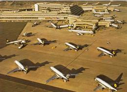 AEROPORTO-AEROPORT-AIRPORT-FLUGHAFEN-KOLN-BONN- VERA FOTOGRAFIA NON VIAGGIATA - Aérodromes