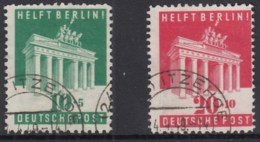 BiZone 101-102, Gestempelt, Berlinhilfe 1948 - Bizone