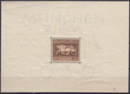 DR  Block 4, Postfrisch **, Das Braune Band 1936 - Deutschland