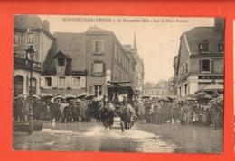 KAI-18  Montbéliard Course Montbéliard-Venise 13 Novembre 1913 Sur La Place Velotte  Doubs, TRES ANIME.Non Circulé - Montbéliard