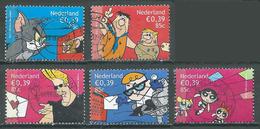 Pays-Bas YT N°1848/1852 (sauf 1850) Bandes Dessinées Oblitéré ° - Periodo 1980 - ... (Beatrix)