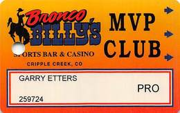 Bronco Billy's Casino Cripple Creek, CO - 5th Issue Pro Slot Card - See Description & Scans! - Casino Cards