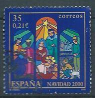 SPANIEN ESPAGNE SPAIN ESPAÑA 2000 TRIPTIC OF A CHRISTMAS BELEN USED ED 3769 YT 3336 MI 3602 SG 3704 SC 3071 - 1931-Heute: 2. Rep. - ... Juan Carlos I