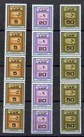 ETP405 - LIBIA LYBIA 1972 , Serie Yvert  N. 459A/C: STRISCIA DI 5  ***  MNH Distributori - Libia