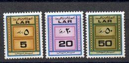 APR2303 - LIBIA LYBIA 1972 , Serie Yvert  N. 459A/C  ***  MNH Distributori. Macchiette - Libia