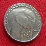 Algeria 5 Dinars 2003 KM# 123 Elephant Argelia Algerie - Algérie