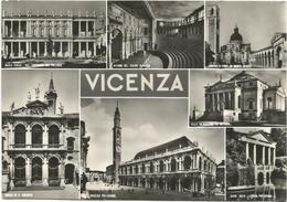 Y4512 Vicenza - Panorama Vedute Multipla / Viaggiata 1963 - Vicenza