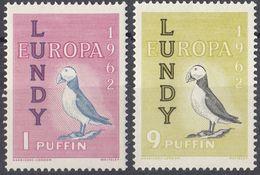 LUNDY - 1962 -Lotto Di 2 Valori Nuovi MH, Europa. - Local Issues