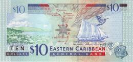 EAST CARIBBEAN STATES P. 43l 10 D 2003 UNC - Caraïbes Orientales