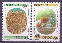 Poland 1992 Mi 3417-3418 MNH ( ZE4 PLD3417-3418 ) - Against Starve