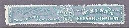 U.S. R S 209 D   ELIXIR  OF  OPIUM     MEDICINE - Revenues