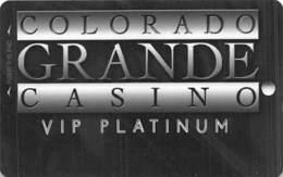 Colorado Grande Casino Cripple Creek, CO BLANK Slot Card - 1 Phone# - Casino Cards