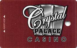 Crystal Palace Casino Central City CO BLANK Slot Card - Casino Cards